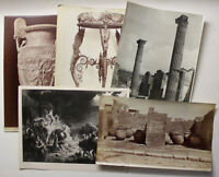 8 Orig. Fotos Pompei um 1890/1950 Fotographie Italien Landschaft Architektur sf