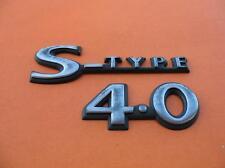 2000 2001 2002 JAGUAR S-TYPE 4.0 REAR EMBLEM LOGO BADGE SIGN SYMBOL 00 01 02 #2