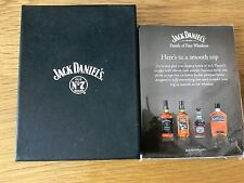 **BRAND NEW BOXED** JACK DANIELS LEATHER PASSPORT HOLDER /CARD HOLDER