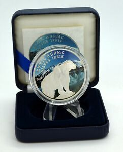 1 OZ Silber Kasachstan 1 Tenge 2010 mit Farbapplikation