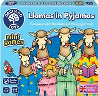 Orchard Toys MINI GAME LLAMAS IN PYJAMAS Educational Game Puzzle BN