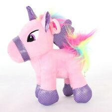 Chic Unicorn Horse Plush Toy Stuffed Animal Doll Home Car Decor Christmas Gifts
