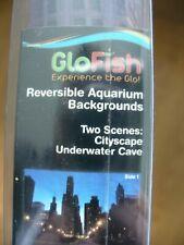 Aquarium Background 12x20in Cityscape & Underwater Cave Scene**FREE S&H**
