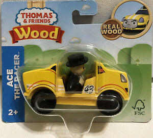 SEALED Thomas Friends Wood Ace the Racer Wooden Railway