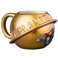 123868 SUPERMAN DAILY PLANET MOULDED MUG 410ML CERAMIC MUG COFFEE TEA CUP
