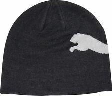 Puma Beanie Mütze für Damen und Herren Big Cat dunkelgau unisex