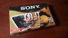 SONY CD-IT HI BIAS BRAND NEW 90. MIN. BLANK CASSETTE TAPE