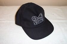 Black Rolling Stones Adult Size Adjustable Baseball Cap Yupoong