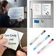 Fridge A5 Magnetic Whiteboard Marker Writing Planner Reminder Magnets Dry Wipe