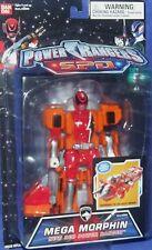 """Power Rangers SPD MEGA MORPHIN 5"""" RED Ranger New Vehicle Factory Sealed 2004"""