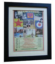 PAUL WELLER+Stanley Road+POSTER+AD+RARE ORIGINAL 1995+FRAMED+FAST GLOBAL SHIP