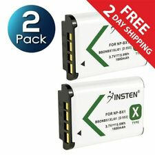 2x NP-BX1 Battery for Sony HDR-AS10