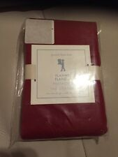 1 Pottery Barn Kids Red Flannel Standard Pillowcase NWT