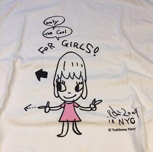Yoshitomo Nara / Niagara / Limited Edition T-Shirt / New / Size Large