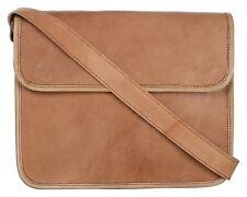 New Real Vintage Leather Messenger Satchel Man All Laptop Briefcase Bag Shoulder