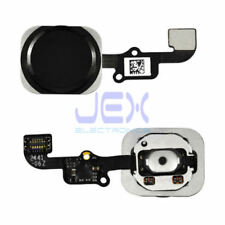 Black Home Button/Touch Fingerprint ID Sensor Flex Cable For iPhone 6 or 6 Plus