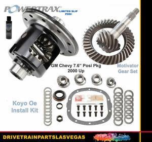 Limited Slip Posi GM Chevy 7.6 Powertrax 3.73 Gear Set Master Kit Motivator New