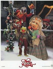 KERMIT THE FROG THE MUPPETS CHRISTMAS CAROL 1992 VINTAGE LOBBY CARD ORIGINAL #2