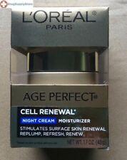 HM L'Oreal Paris Age Perfect Cell Renewal Moisturizer, Night Cream 1.7 oz