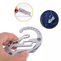 Smart Key Holder Organizer Clip Folder Keyring Keychain EDC Pocket Tool