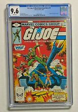 G.I. JOE, A Real American Hero #1 Marvel Comics 1982 CGC 9.6 Hasbro Toy Line