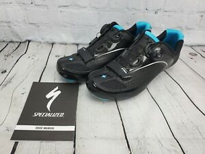 New Specialized Ember Rd Womens Road Cycling Shoes Size EU 42/US 10.5 Blue/Black