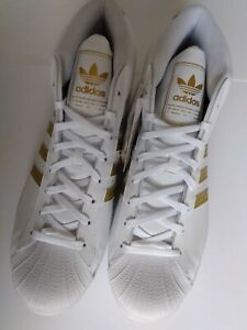 Adidas Originals Pro Model Sneakers - White Gold FV4972 Men's Size 13 Shell Top