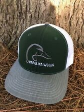 GREEN WHITE CAROLINA WOODS HOOK HORN DEER FISH  DUCK  RICHARDSON 112  CAP HAT