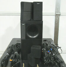 Bose Acoustimass 15 5.1 Channel Home Theater Speaker System w/ 10 Cube Speakers