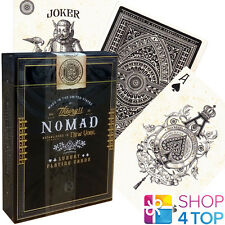 NOMAD THEORY 11 LUXURY PLAYING CARDS DECK BLACK GOLD MAGIC TRICKS SEALED NEW