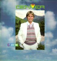 John Denver Vinyl LP RCA Victor Records 1983, AFL1-4683, It's About Time ~ NM- !