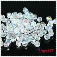 Loose DIY Jewelry 2/3/4mm Bicone 5301 Crystal 1000pcs making beads