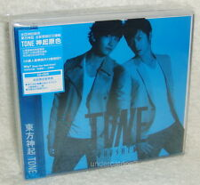 TOHOSHINKI TVXQ TONE Taiwan Limited CD+DVD+Card (Blue Ver.) Dong Bang Shin Ki
