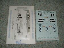 SuperScale  decals 1/72 72-874 P-51D Mustangs 353rd 356th 354th 9th    E98