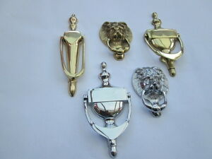 SOLID BRASS TRADITIONAL OLD CLASSIC VICTORIAN  DESIGN DOOR KNOCKERS
