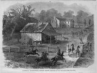 HORSES, CIVIL WAR GUERRILLA DEPREDATION SEIZING HORSES