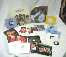 23 total / NEVER PLAYED / vinyl 33 & 45 rpm  records by michael jackson & family