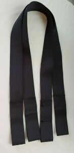 """Baby Trend Harness Infant Car Seat Belt Strap Black 62""""  long One Strap Only"""