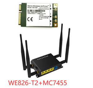 ZBT WE826-T2 LTE WiFi MC7455 Router Verizon AT&T T-Mobile|MC7455|WE826-T2|WE826