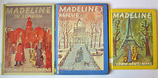Madeline Ludwig Bemelmans (Lot 3) Madeline in London, Rescue Ex Library HC