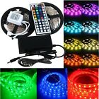 5M RGB 5050 SMD waterproof 300 LED Light Strip Flexible + IR Remote DC 12V power