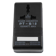 100W Power Converter Adapter AC 110V/120V to 220V/240V Up Down Volt Transformer