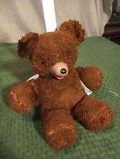"Vintage 11"" Cubbi Gund rubber snout teddy bear"