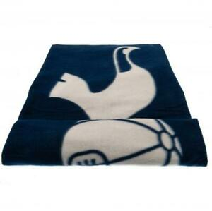 Tottenham Hotspur FC BLANKET THROW PL 5ft x 4ft Soft Fleece Official Merchandise