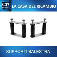 COPPIA SUPPORTO BOCCOLA BALESTRA POSTERIORE DX/SX FIAT PANDA 141 4X4 1986->