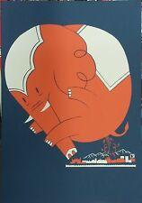 BOMBOLAND: ELEFANTE  - Stampa gigante  (poster)  firmato
