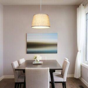 EDISHINE Plug in Pendant Light Fixture 15ft Cord Hanging Light for Dining Table