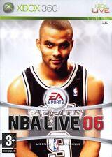 NBA LIVE 06             -----   pour X-BOX 360
