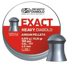 JSB EXACT .177 HEAVY PELLETS FT HFT HEAVIES