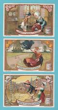LIEBIG - SET OF 6 CARDS - S 860  /  F 857  - CHILDREN  OF  NATIONS  -  1906